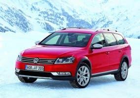 Frontal del Volkswagen Passat Alltrack
