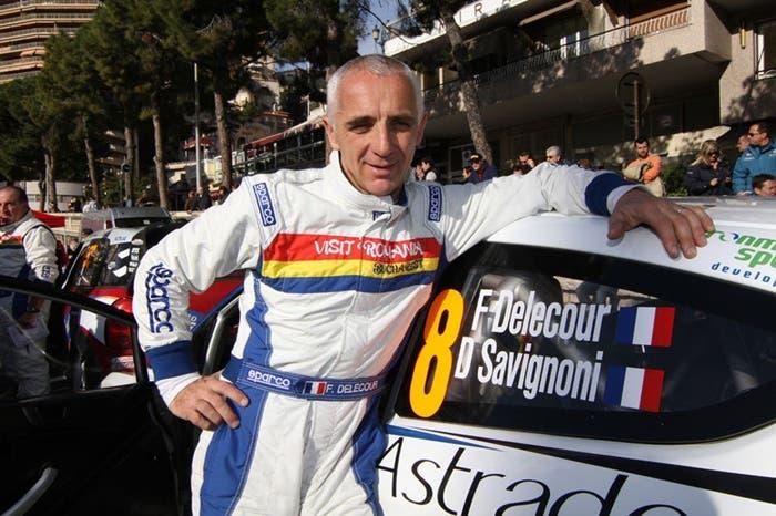 Piloto francés de rallys, François Delecour