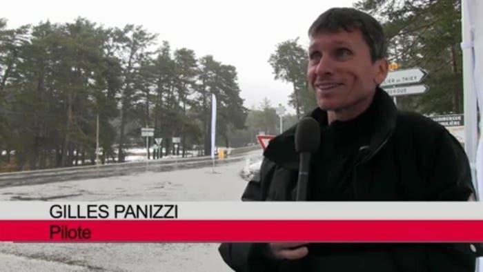 Piloto francés de rallys, Gilles Panizzi