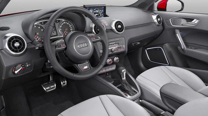 Interior del Audi A1