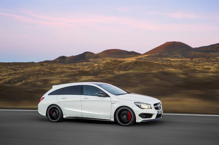 Exterior del Mercedes CLA 45 AMG Shooting Brake
