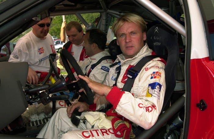 Piloto francés de rallys Philippe Bugalski