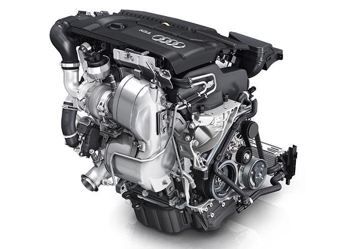 Motor tricilíndrico de Audi