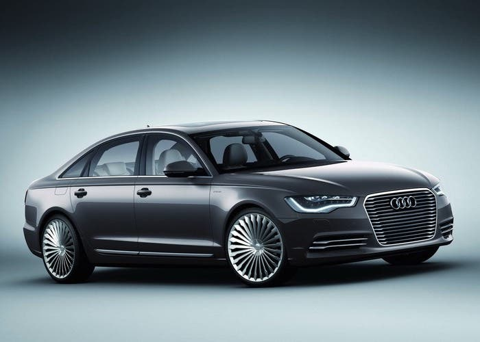 Audi A6 L e-tron concept de 2012