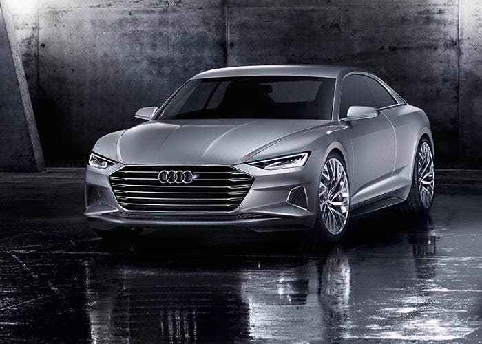 Vista frontal del Audi Prologue Concept