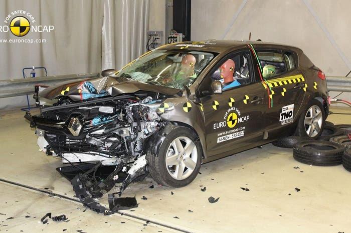 Renault Mégane en EuroNCAP