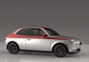 Recreación del Fiat 127