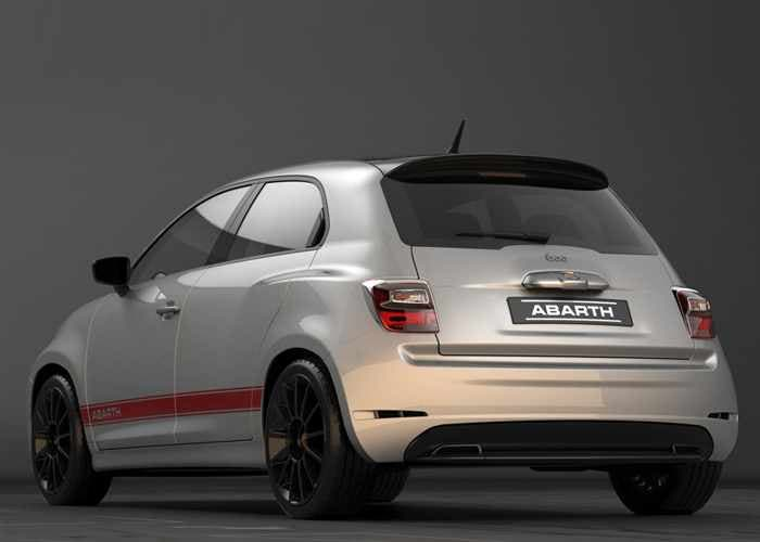 600 Abarth Concept by Obendorfer