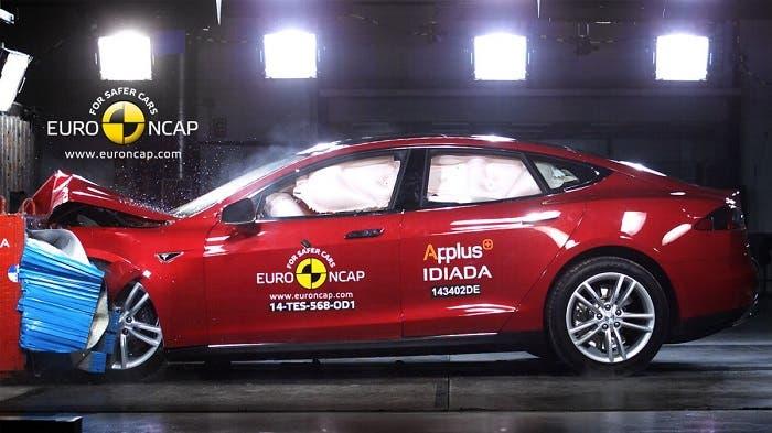 Tesla Model S en EuroNCAP