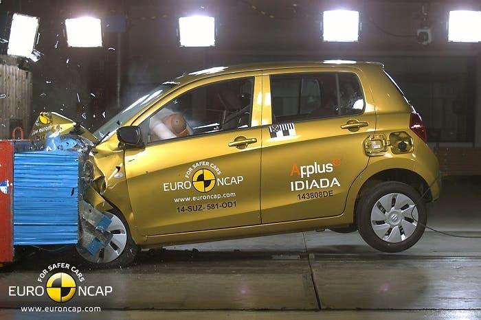 Suzuki Celerio en EuroNCAP
