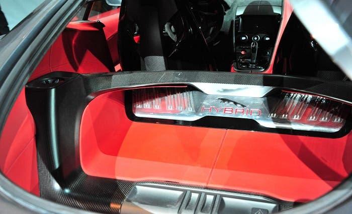 Interior del Jaguar C-X16 Concept
