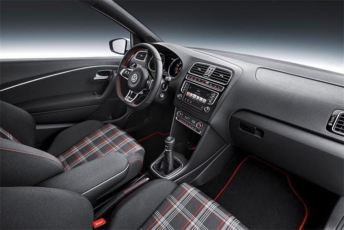 Interior del Volkswagen Polo GTI
