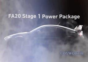 Preparación de Cosworth sobre el Toyota GT86