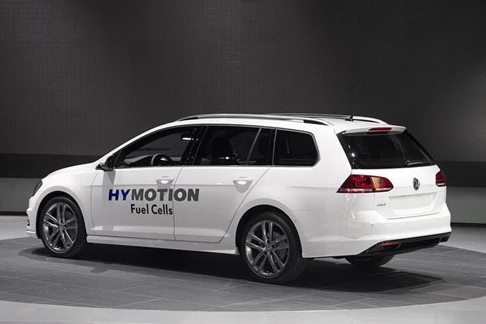 Trasera del Volkswagen Golf HyMotion