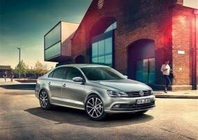 Frontal del Volkswagen Jetta 2015