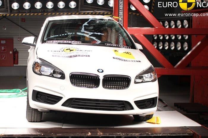 BMW Serie 2 en EuroNCAP