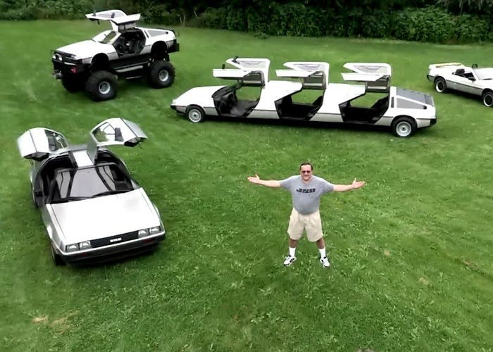 Loco de DeLorean
