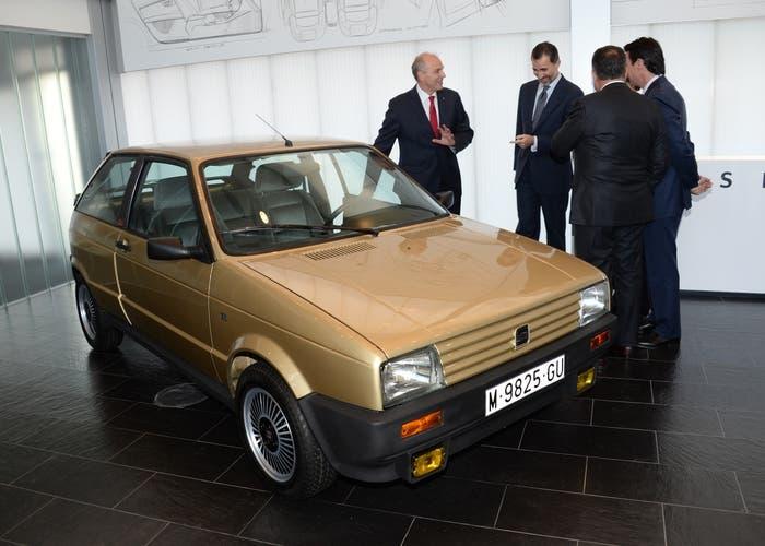 SEAT Ibiza restaurado del Rey Felipe VI