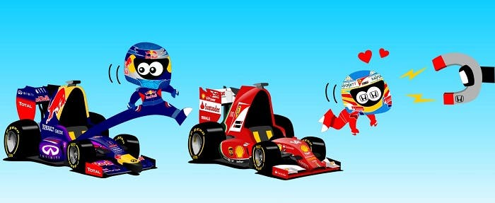 Fernando Alonso se va a Honda
