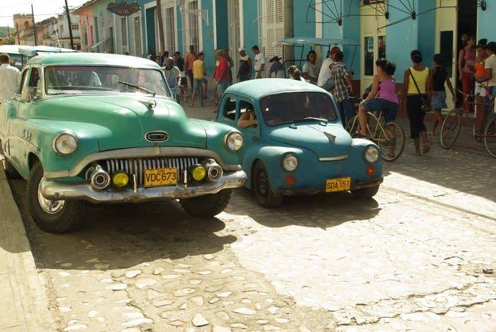 Los taxis clásicos de Cuba