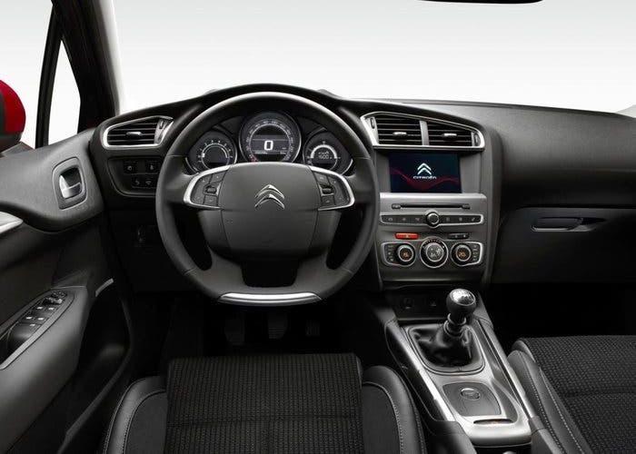 Interior del Citroen C4 2015