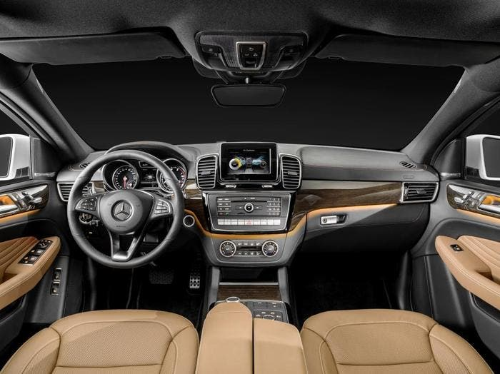 Interior Mercedes GLE coupe