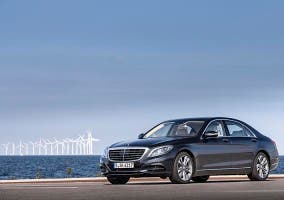 Frontal del Mercedes S500 PLUG-IN HYBRID
