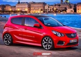 Frontal del Opel KARL OPC