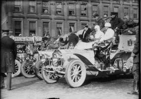 Salida de carrera en 1908
