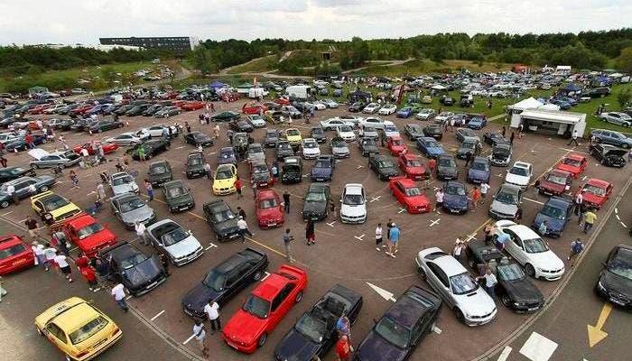 Quedada de coches BMW