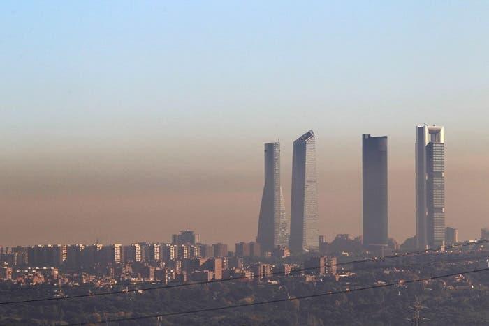 Polución en la ciudad