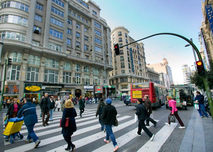 Limite de velocidad para peatones 2015