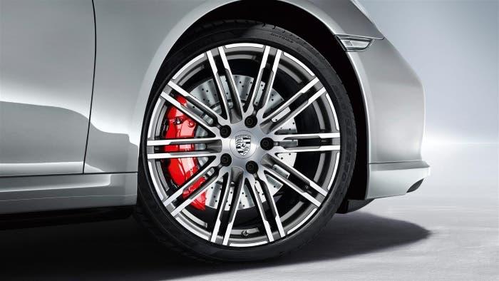 Frenos de serie del Porsche 911 Turbo