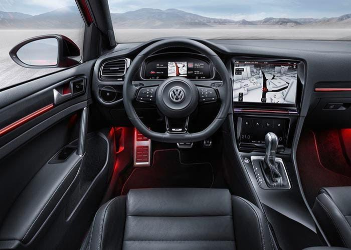 Interior del Volkswagen Golf R Touch