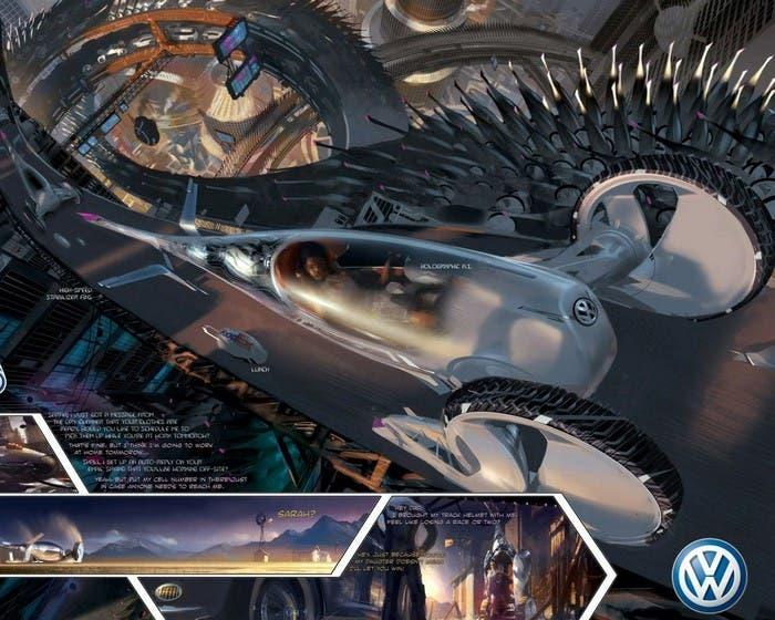 Coche futurista de VW