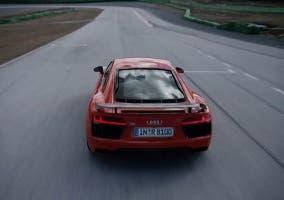 Trasera del nuevo Audi R8