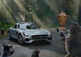 Anuncio de Mercedes Super Bowl