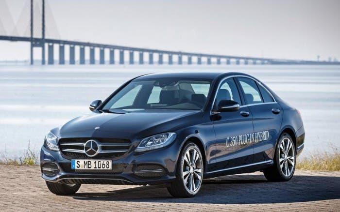 Frontal del nuevo Mercedes Plug-in