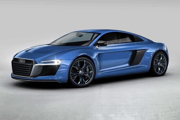 Frontal Audi R8 2015
