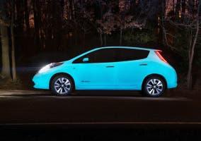 Nissan Leaf fosforescente