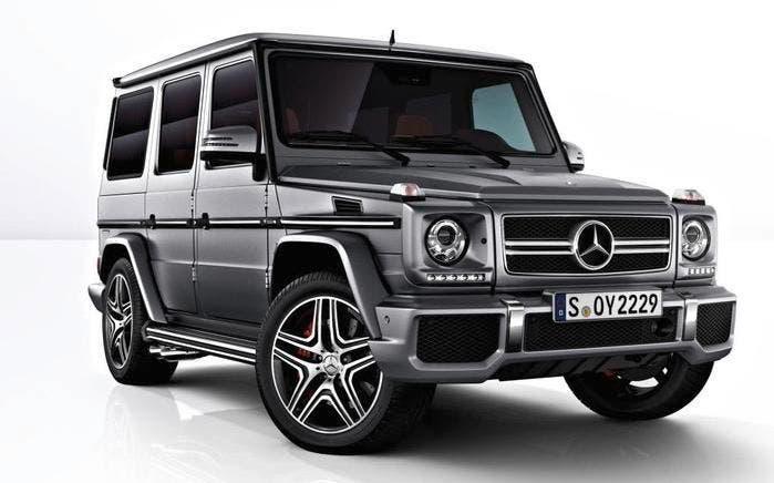 Mercedes Clase G 4x4