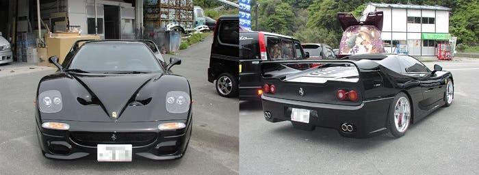 Honda NSX transformado en Ferrari