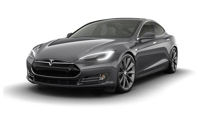 Tesla Model S eléctrico