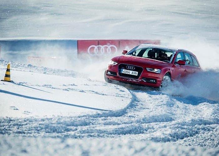 Audi Driving Experience en la nieve