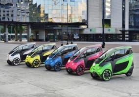 Toyota i-Road eléctrico
