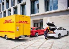 Amazon podrá dejar nuestros paquetes en el maletero de nuestro Audi a través de DHL