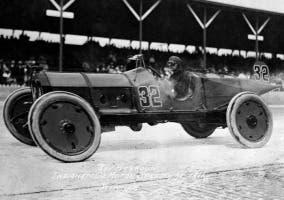 Ray Harroun en Indianapolis en 1911