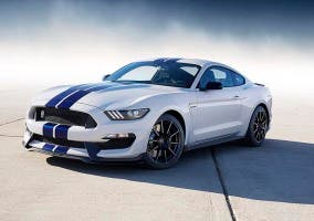 Frontal del Shelby Mustang GT350R