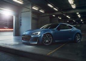Prototipo del Subaru BRZ STI