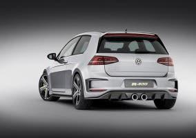 Trasera del Volkswagen Golf R400